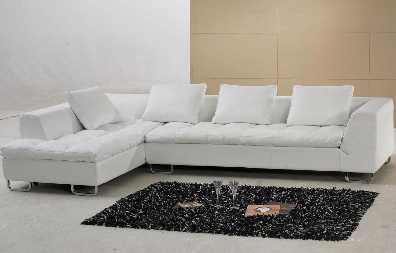 Amazing White Ikea Leather Couch Idea With Loveseat And Black Area Rug And  Cushions
