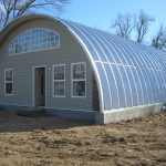 awesome quonset hut homes with cool roof and appealing wall plus glass double hung windows and wooden door