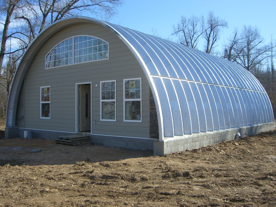Quonset hut homes that will steal your amazement homesfeed for Who builds homes
