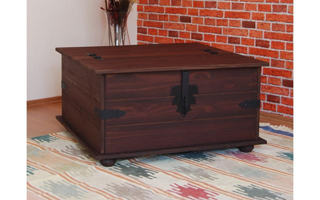 Best Classic And Antique Wooden Coffee Table Furniture Design In Boxy Shape  With Lock On Ethnic
