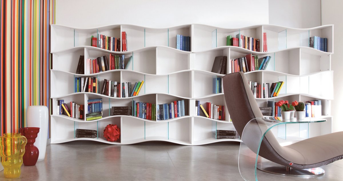 Wide Selection Of Cool Bookshelves Design For Your