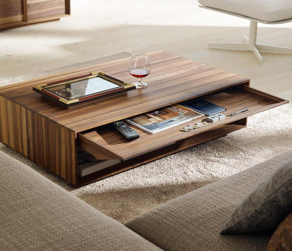 Several cool coffee table to serve the best welcoming tone homesfeed best cool wooden coffee table idea in rectangle shape with storage on furry rug geotapseo Choice Image