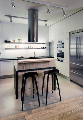 Loft style kitchen design perfect new feeling and nuance for Small loft kitchen designs
