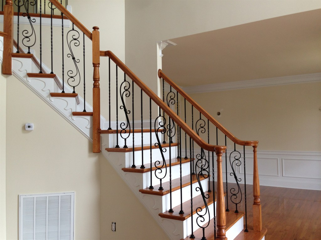 Contemporary Outlet Decora Glass Steel Staircase Railing Modern Stair