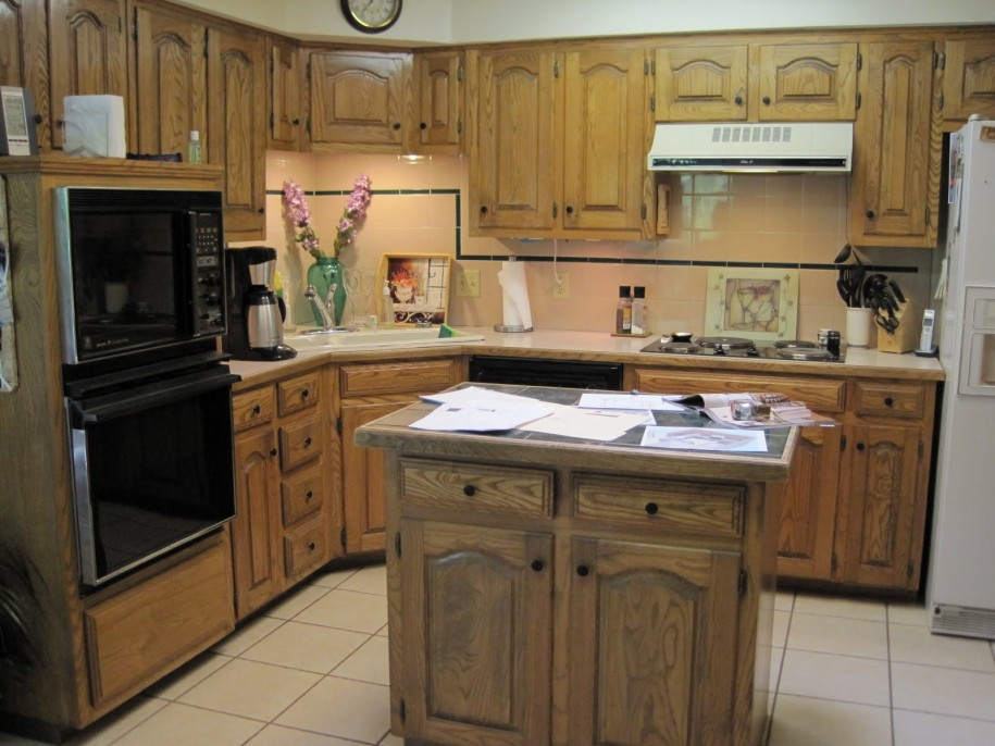 Rustic Small Kitchen Design Ideas ~ Best small kitchen design with island for perfect