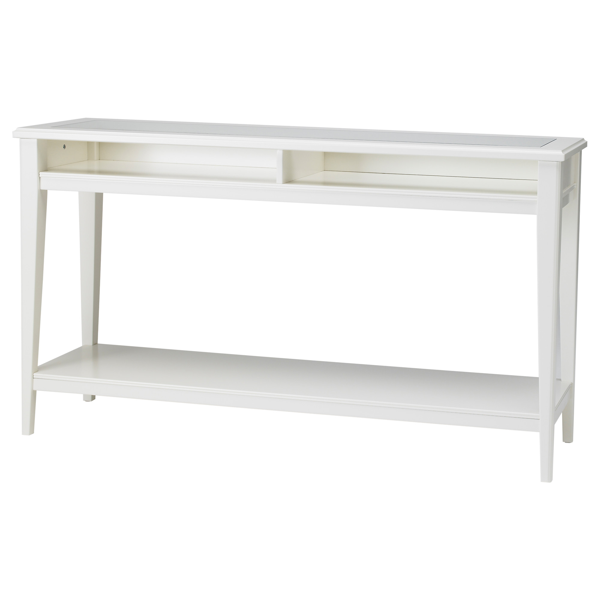 cool dazzling console tables ikea with storage beneath painted in white featuring with rack. Black Bedroom Furniture Sets. Home Design Ideas
