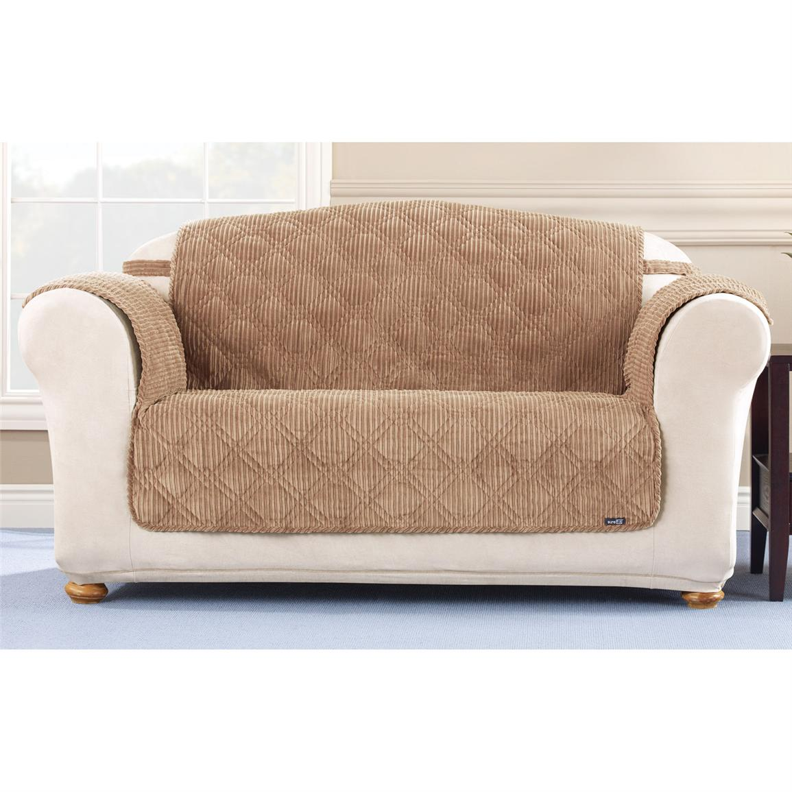Enjoy the tremendous outlook of love seat slipcovers homesfeed Cover for loveseat