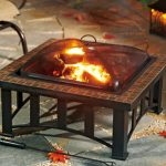 fire pit table design for patio