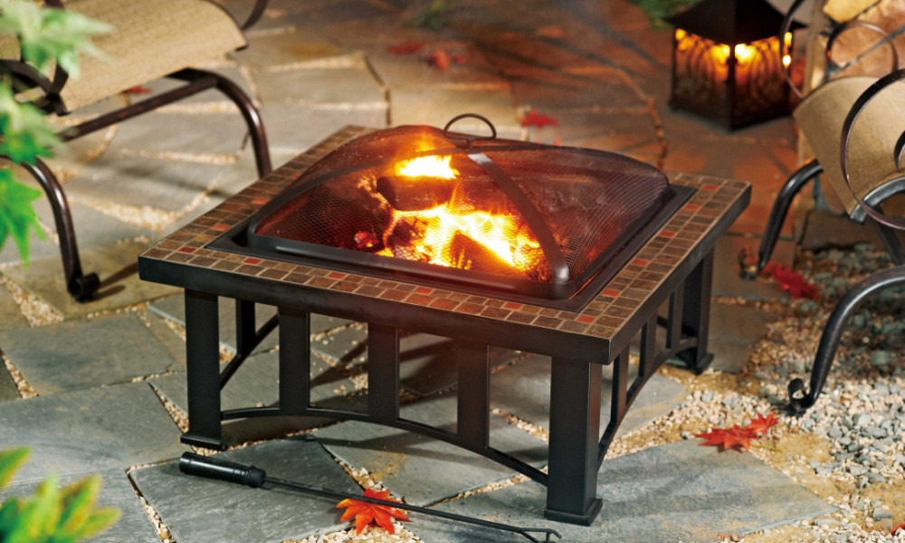 Hampton Bay Fire Pit Selections For Indoor And Outdoor