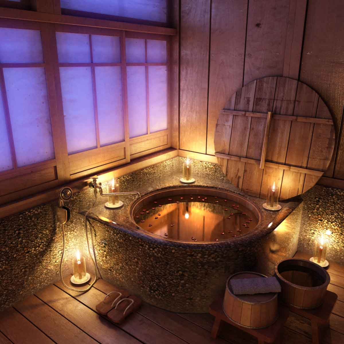 glamor-japanese-bathroom-design-with-uni