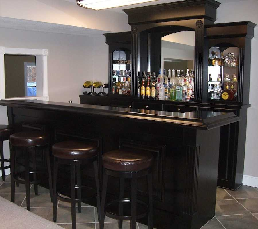 Home Bars Design Ideas: Elegant Home Bar Ikea Design For Home Hang Out Space