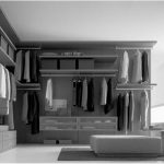 Gorgeous Open Plan Walk In Closet Idea With Seating And Gray Dresser For Closet Idea
