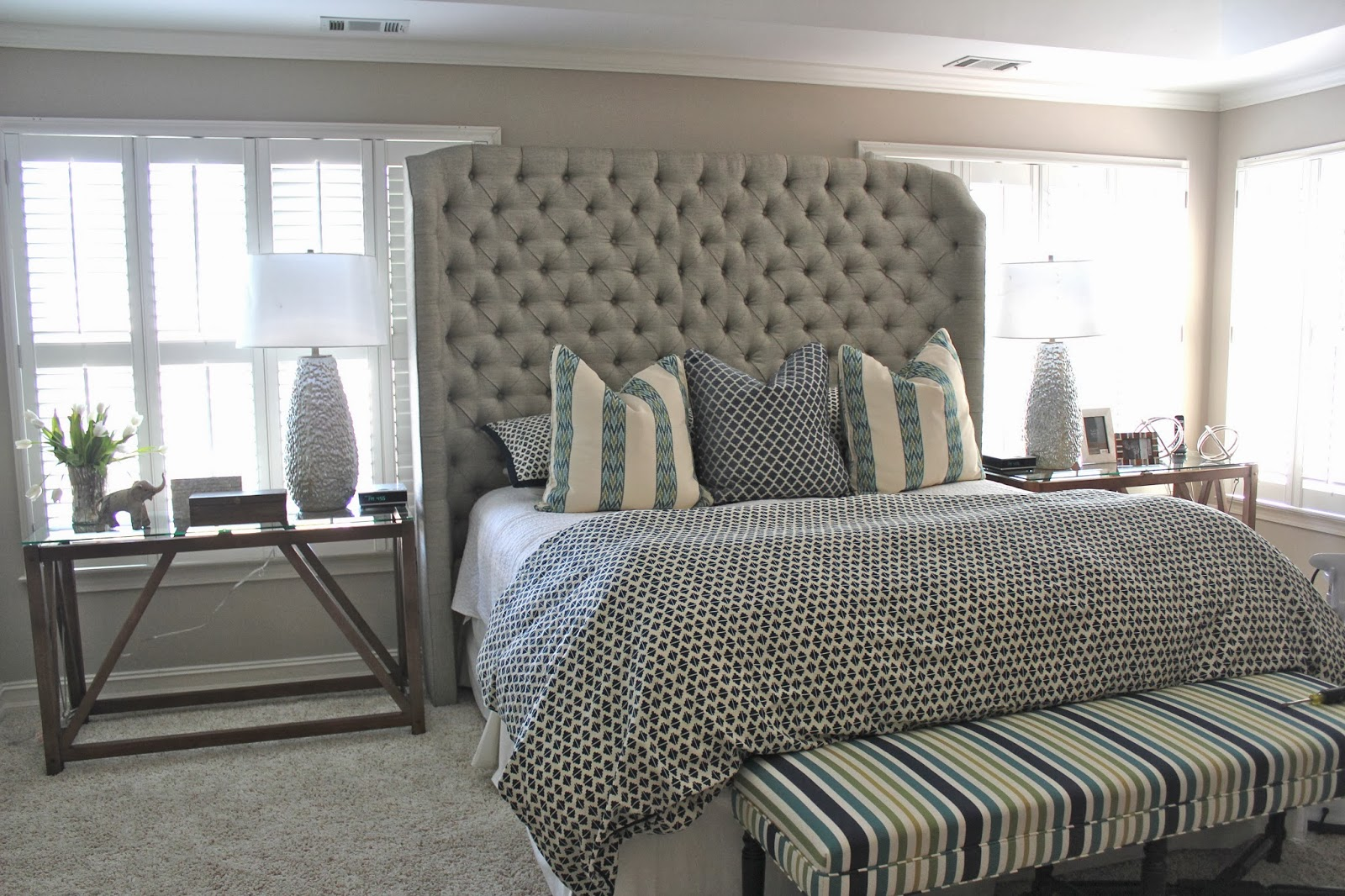 Awe Inspiring Tall Upholstered Beds That Will Enhance Your