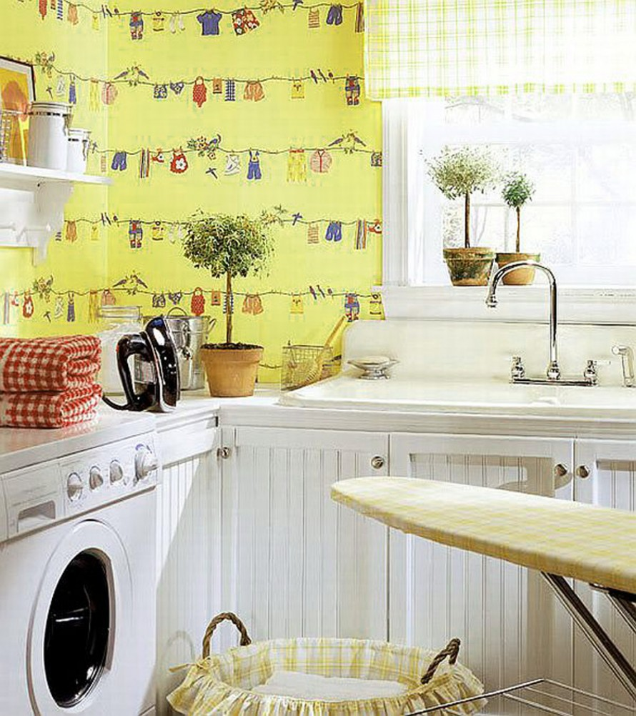 Simple and Best Laundry Room Shelf that You Must Apply | HomesFeed