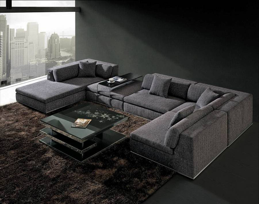 long sectional sofas which designs are insanely gorgeous. Black Bedroom Furniture Sets. Home Design Ideas