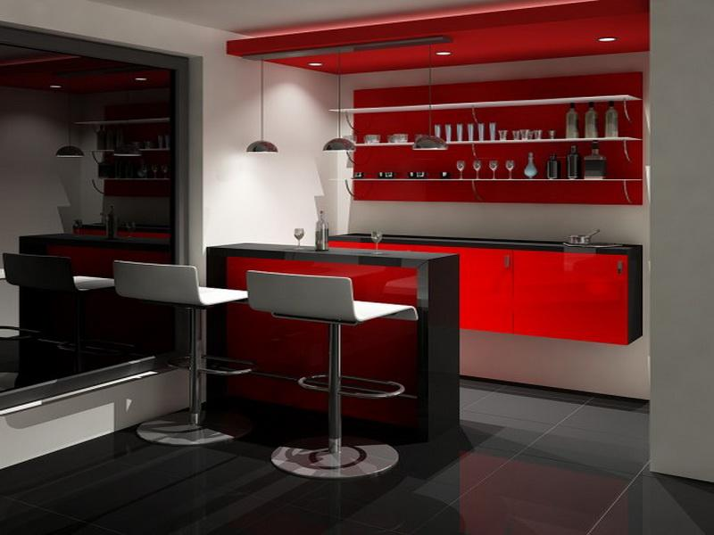 Ikea home bar ideas that are perfect for entertaining for Corner bar cabinet ikea