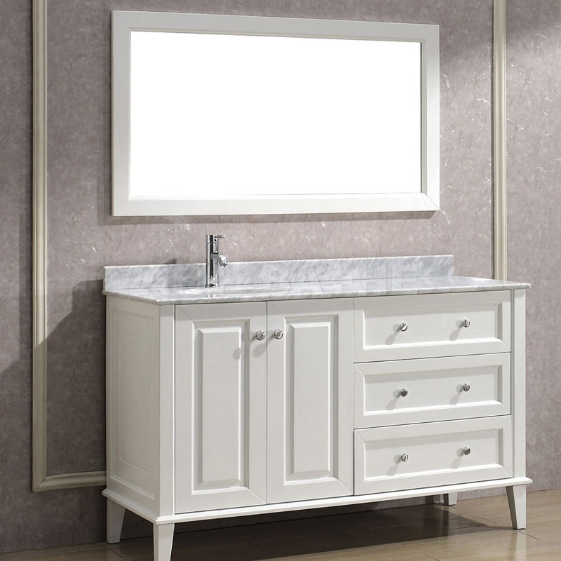 images of bathroom vanities in white with fascinating countertop and single  sink and chrome finish faucet. 48 Bathroom Vanity Mirror  60 Inch Vanity Double Sink 55 Inch