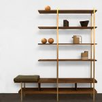 interval free standing bookshelves featuring bench aside for home furniture ideas