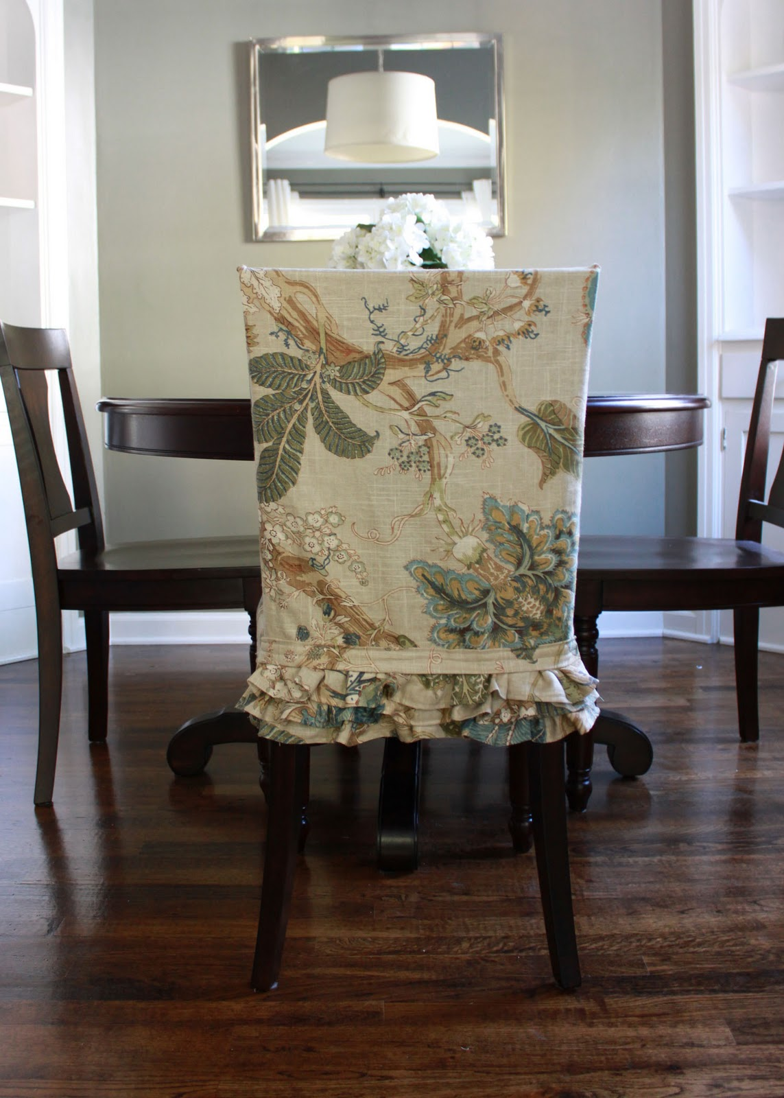 round back dining room chair covers. Inviting And Appealing Slipcovers For Dining Room Chairs Made Of Wood In  Dar Finish Plus Beautiful Slipcovers Dining Room Chairs That Embellish Your Usual