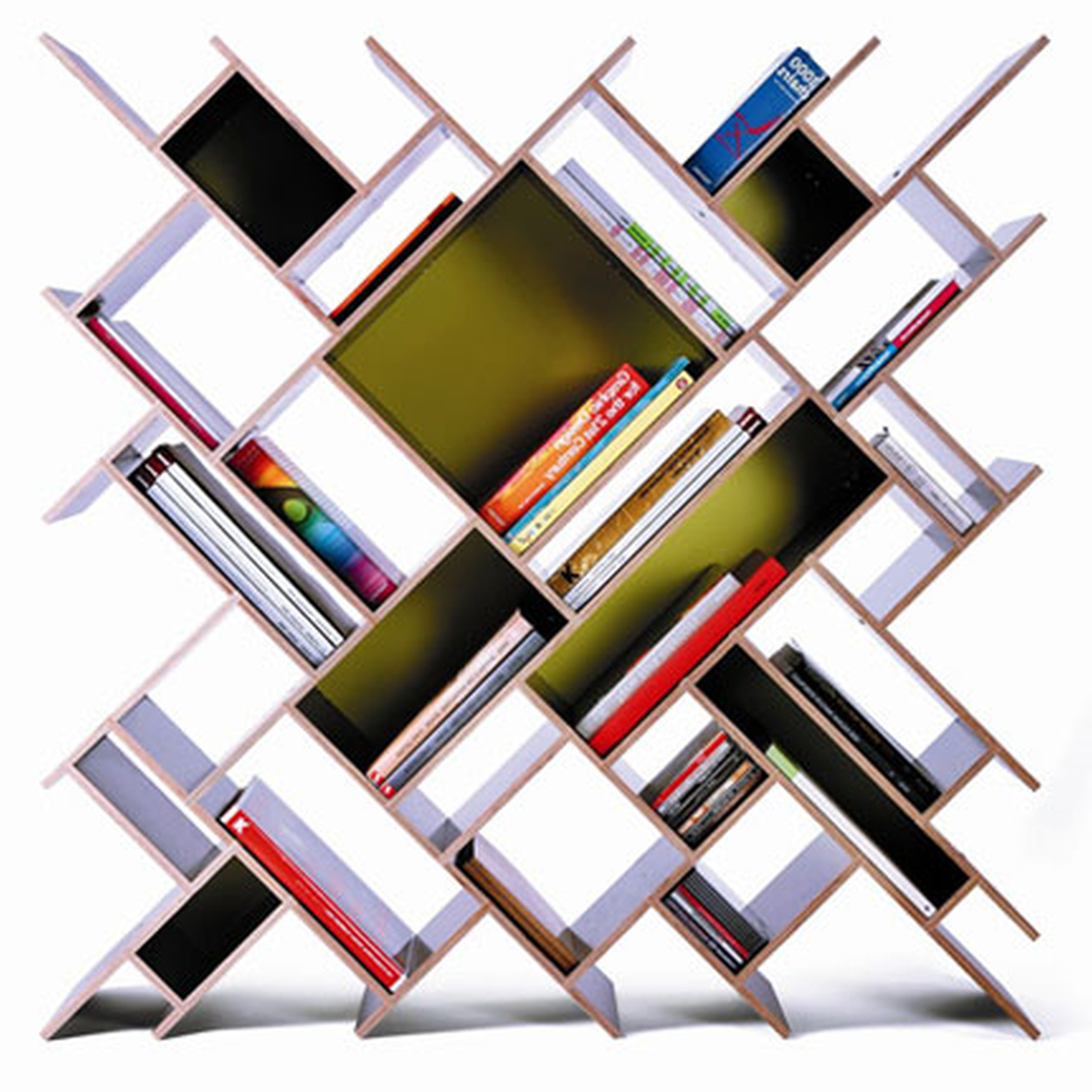 Wide selection of cool bookshelves design for your - Bookshelf designs ...
