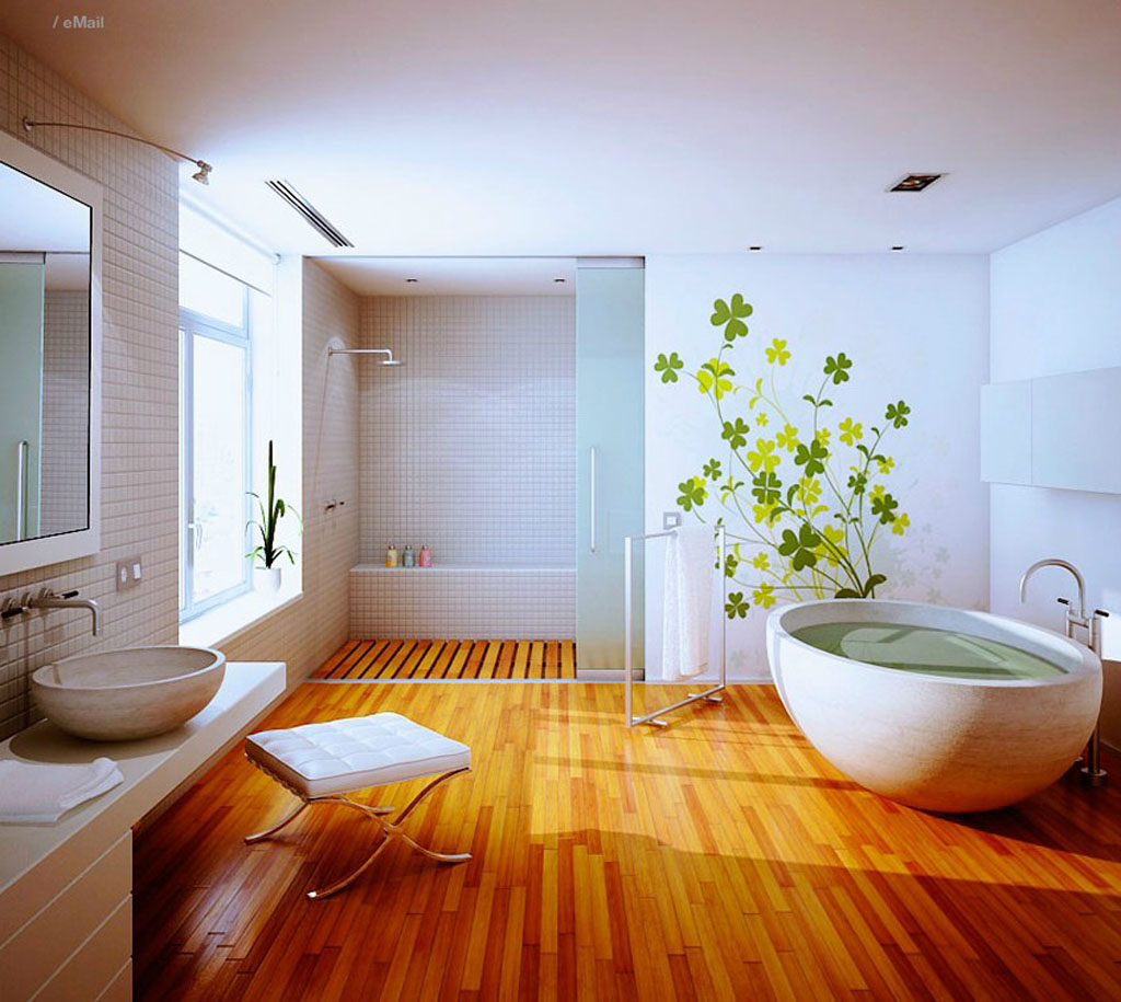 Let Your Body Trapped in Serenity in Japanese Bathroom | HomesFeed