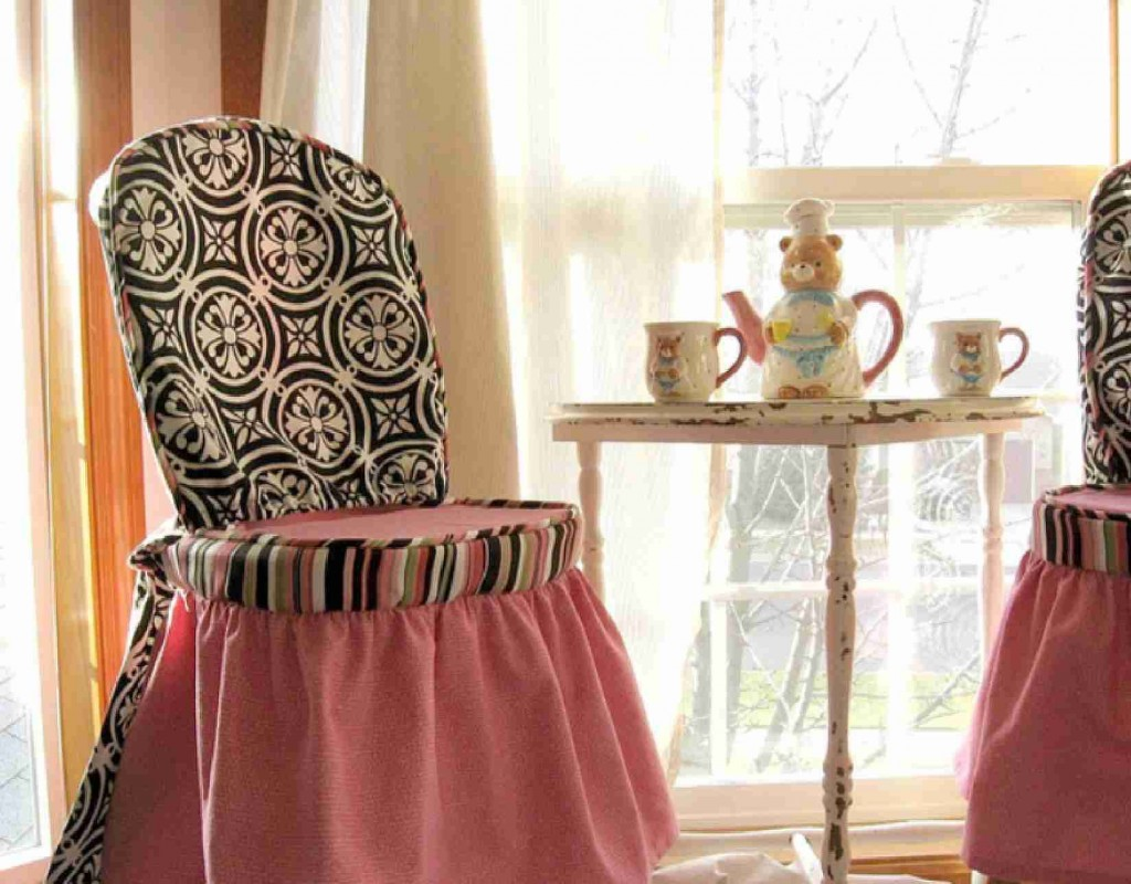 elegant slipcover for dining room chairs u2013 stylish look homesfeed