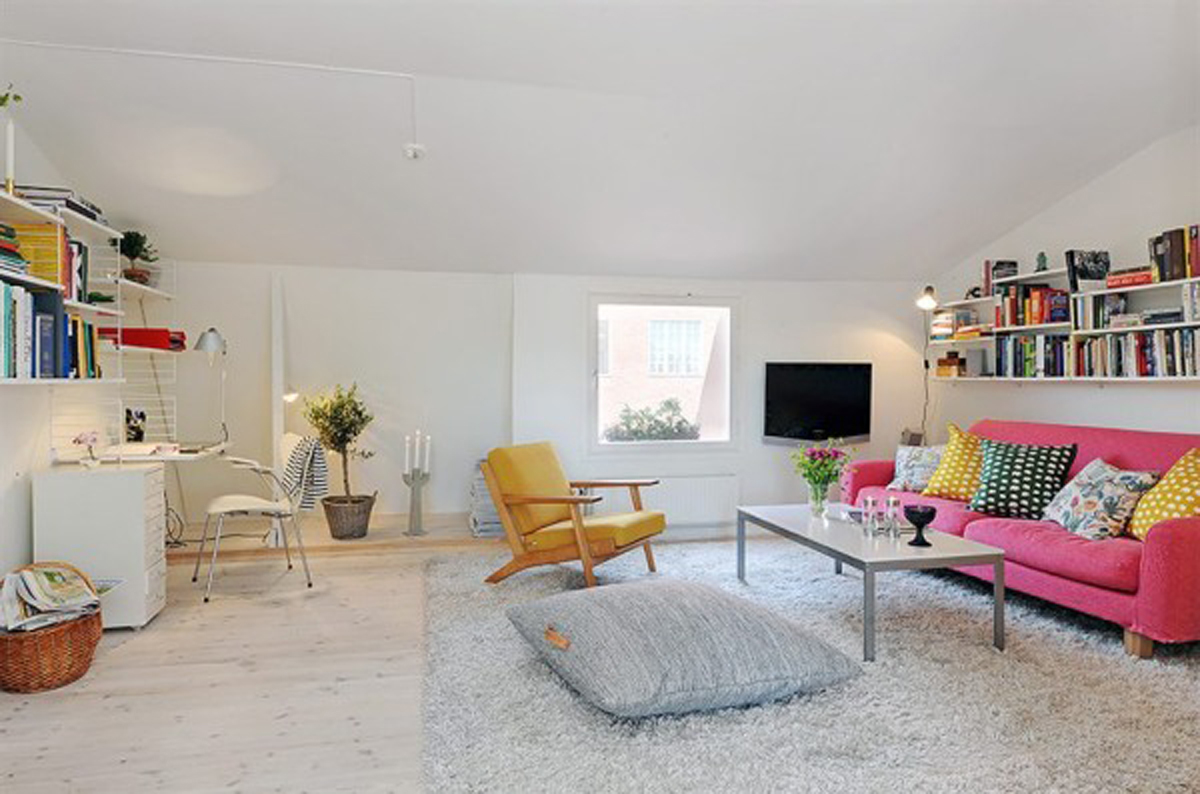 Complete Your Interior with Posh Treatment of Faux Fluffy White Rug ...