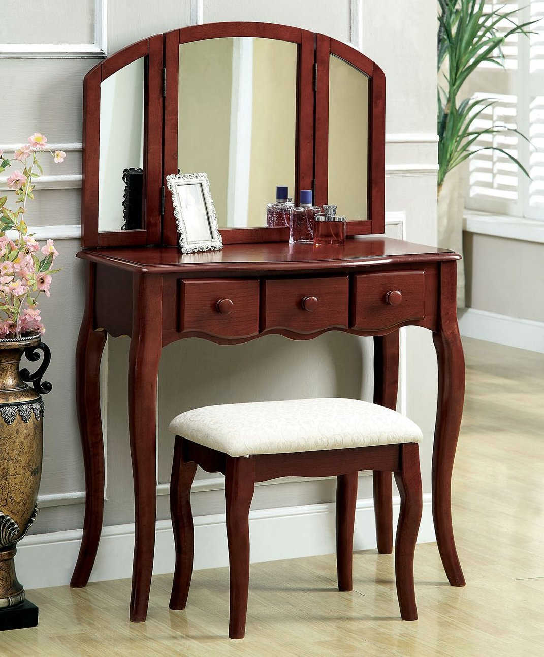 Elegant Vanity Chair And Stool That You Must Have Homesfeed