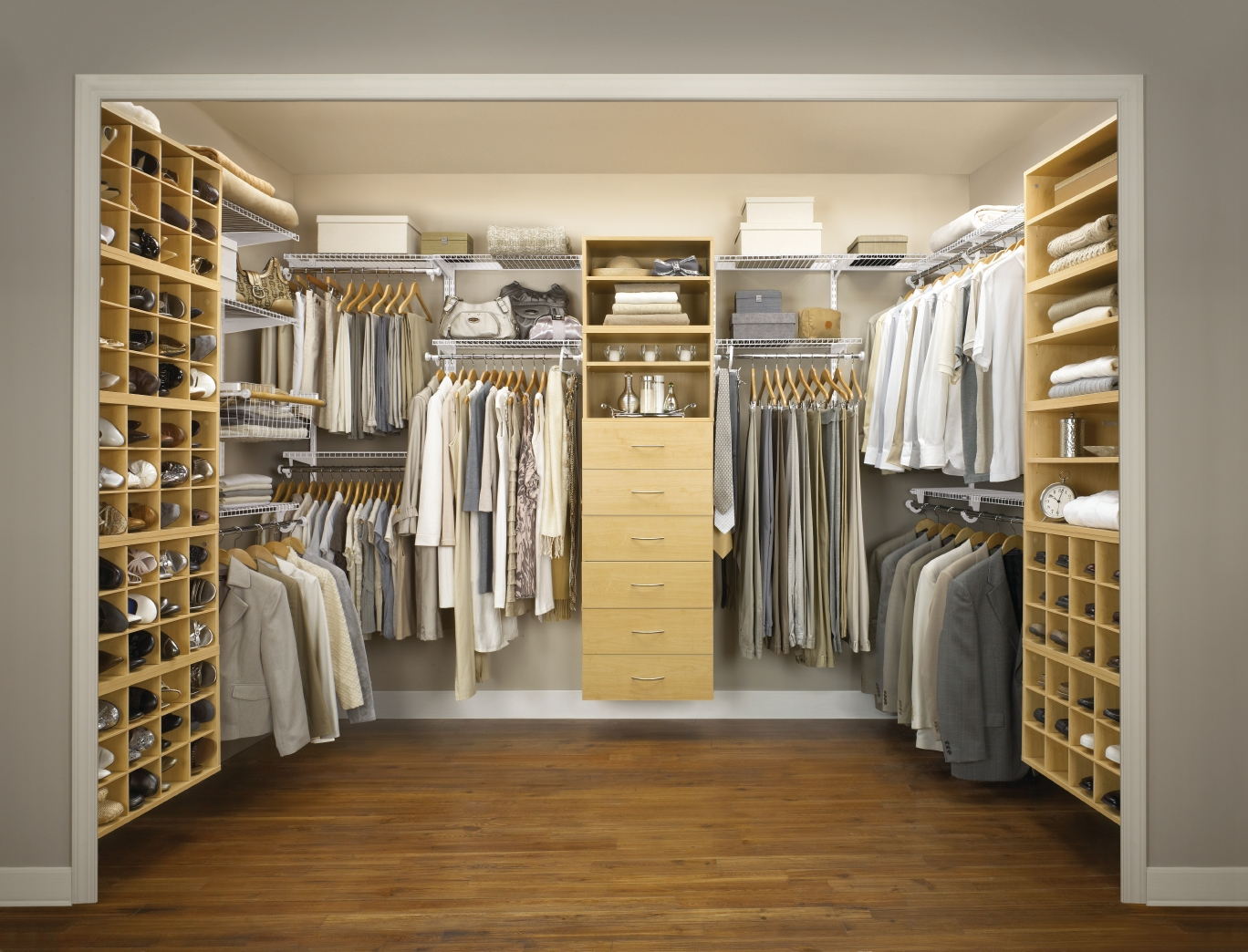 Dresser for closet additional furniture for style homesfeed - Walk in closet designs for a master bedroom ...