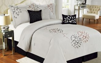 lovable white california king bed comforter set idea with japanese style and arched headboard and wooden floor