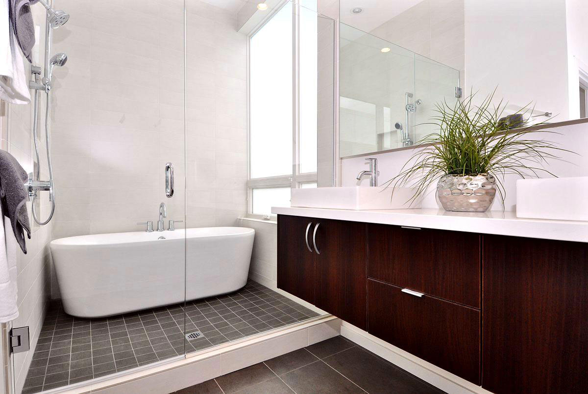 Modern Bathtub Shower modern bath for different experience in your house | homesfeed