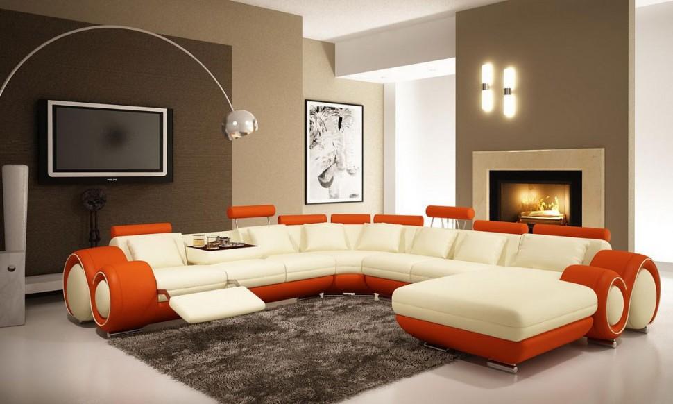 Modern Living Room Orange perfect modern living room orange inside design inspiration