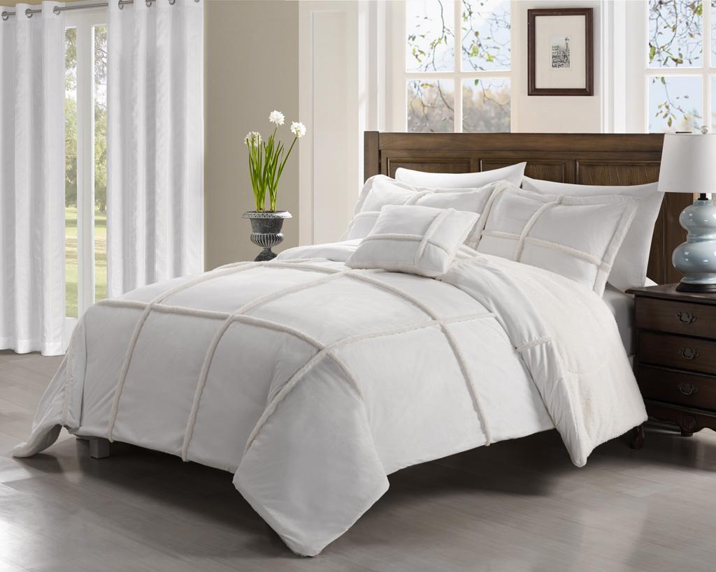 set kitchen amazon piece sets grace king comforter chic com white dp home