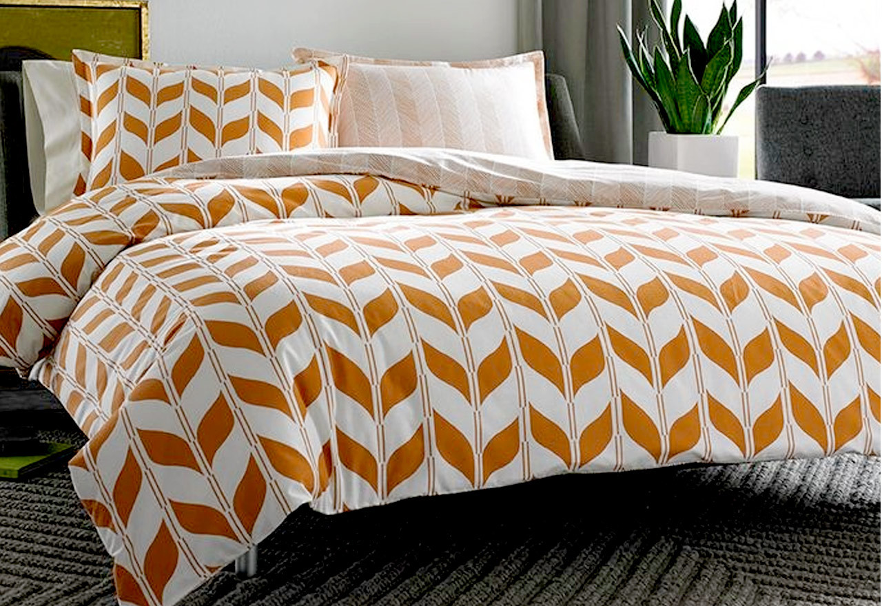 mid century modern bedding set collections | homesfeed