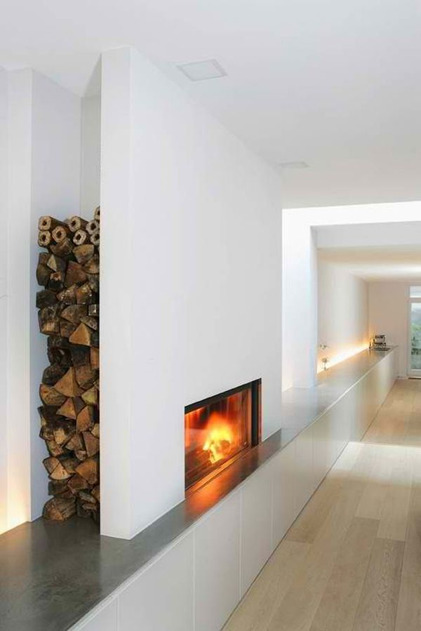 Excellent Ideas of Indoor Firewood Boxes and Storages for ...