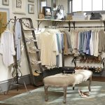 new-york-closet-shoe-ladder-as-a-ladder-shelf-for-shoes-exhibits-a-simple-and-efficient-design-that-made-of-iron-with-a-pewter-finish-and-holds-10-pairs-of-shoes