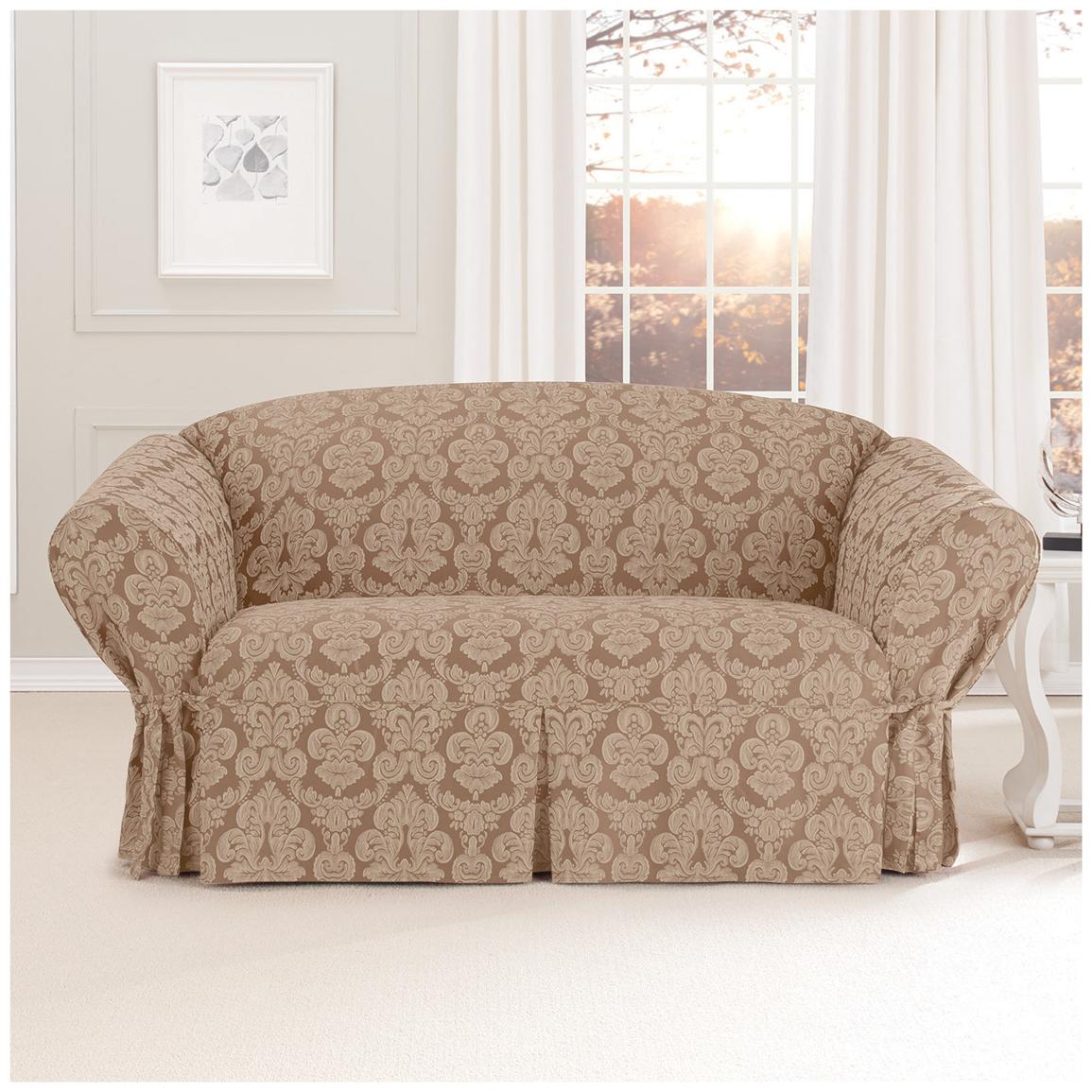 Love seat slip covers for stunning outlook in the living room homesfeed Cover for loveseat