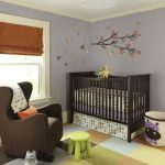 purple-hippo-storage-bin-by-3-sprouts-near-brown-crib-and-brown-nursery-chair-with-light-green-ottoman-and-chair