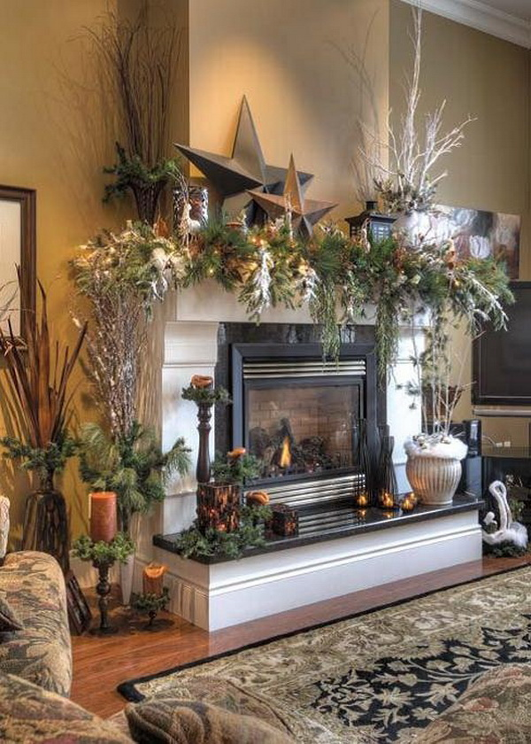 rustic mantel d cor that will adorn your bored to death