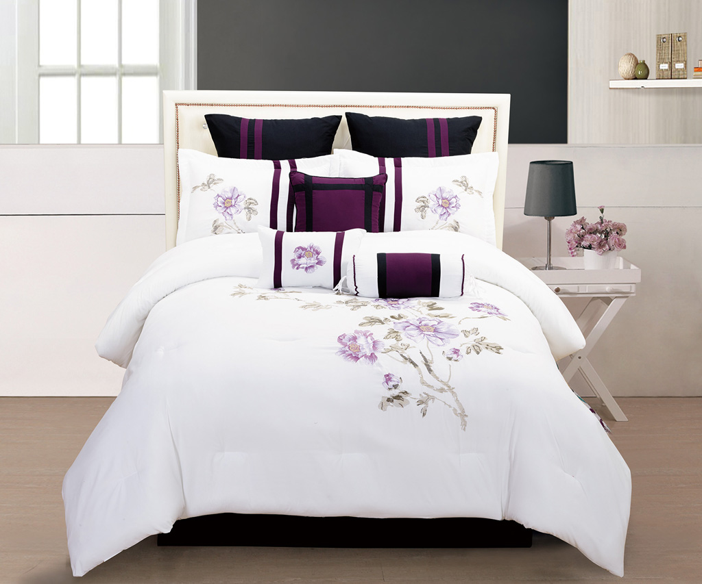 sets white comforter and black bed croscill us tan wonderful set espan king gray