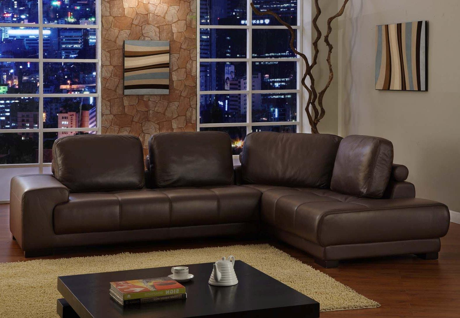 sectional sofa clearance in modern design with brown rug and square coffee table together with stunning : quality leather sectional - Sectionals, Sofas & Couches