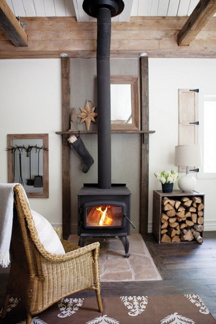 Excellent Ideas Of Indoor Firewood Boxes And Storages For