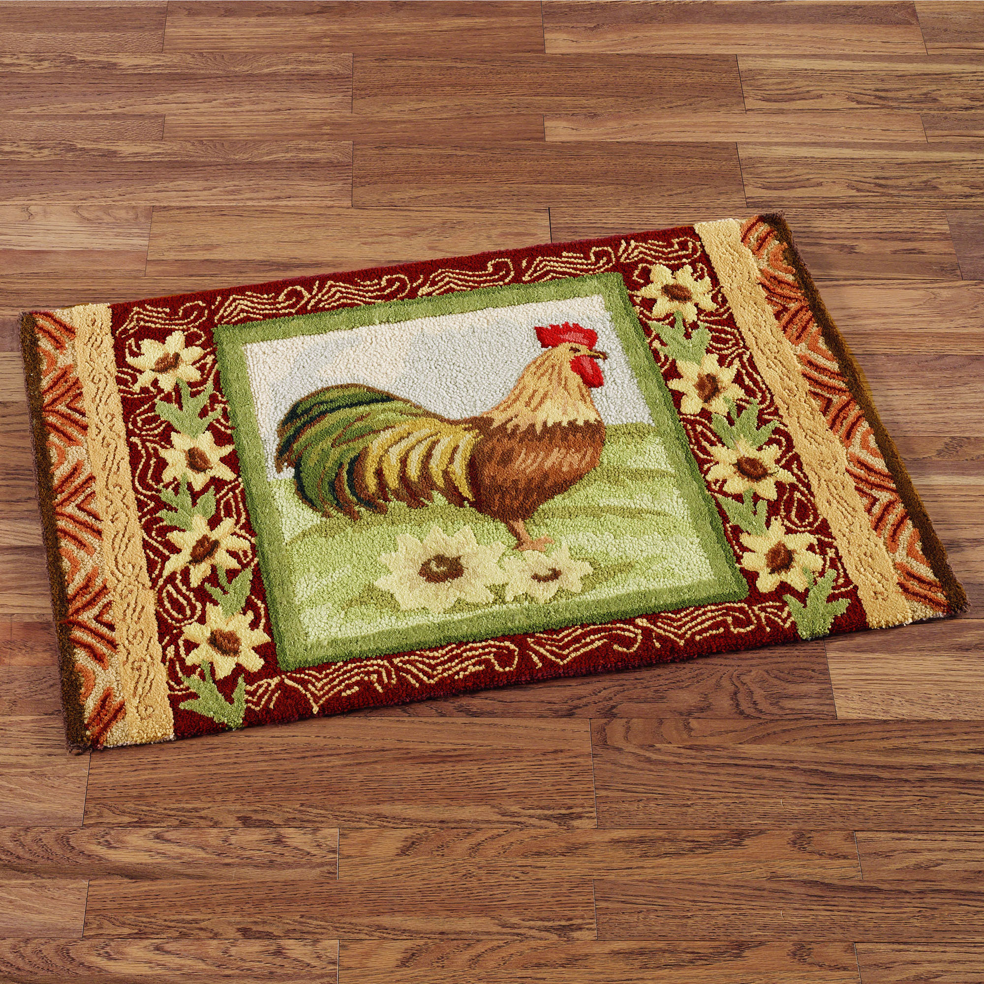 rooster kitchen rugs