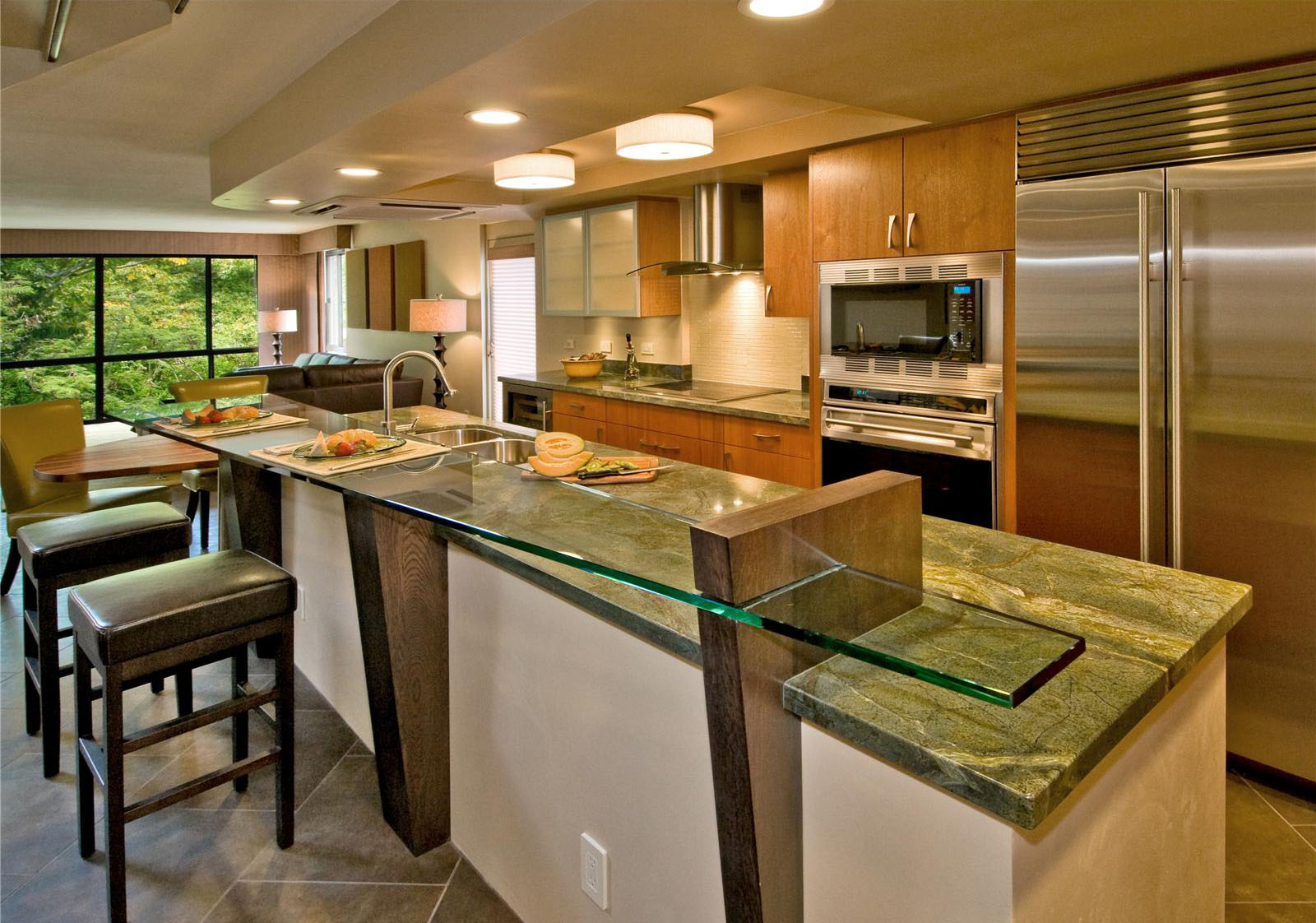 Open Kitchen Designs With Island to strive with open kitchen design – photo gallery | homesfeed