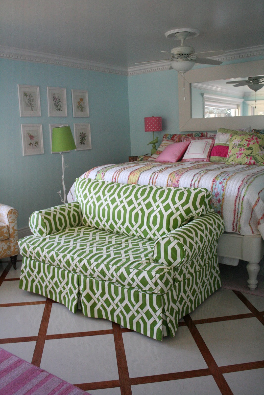 sofa off floral domain multi loveseat price stripe patterned nyc and green