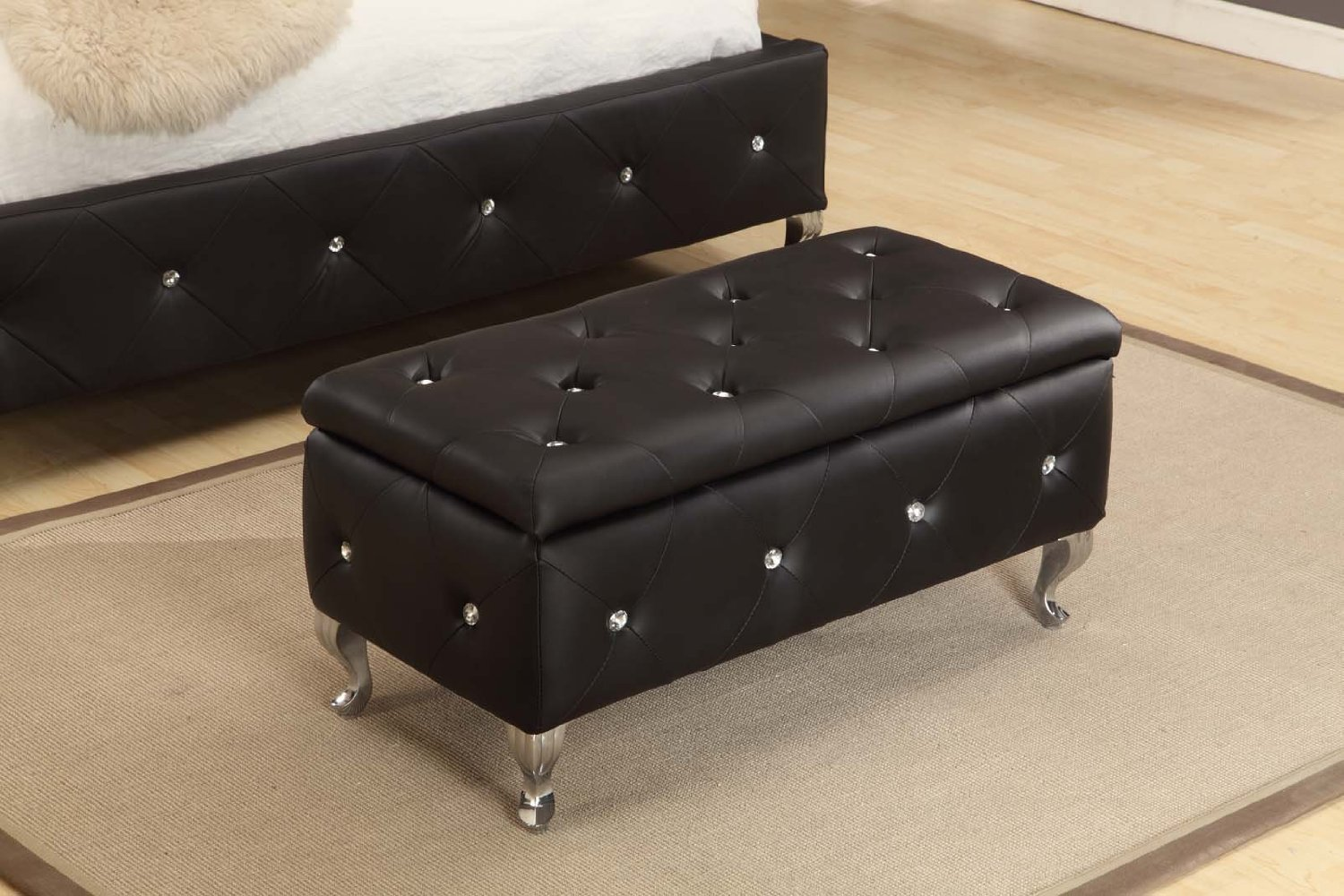 Storage Ottoman For Bedroom - Rolling Ottoman With Storage Elegant Ottoman Buy Ottoman On With