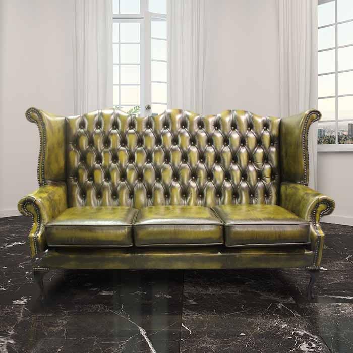 ikea leather sofa 3 seater