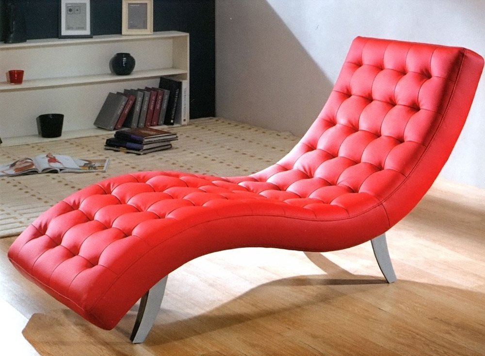 Small Chaise Lounge Unique Furniture For Comfortable