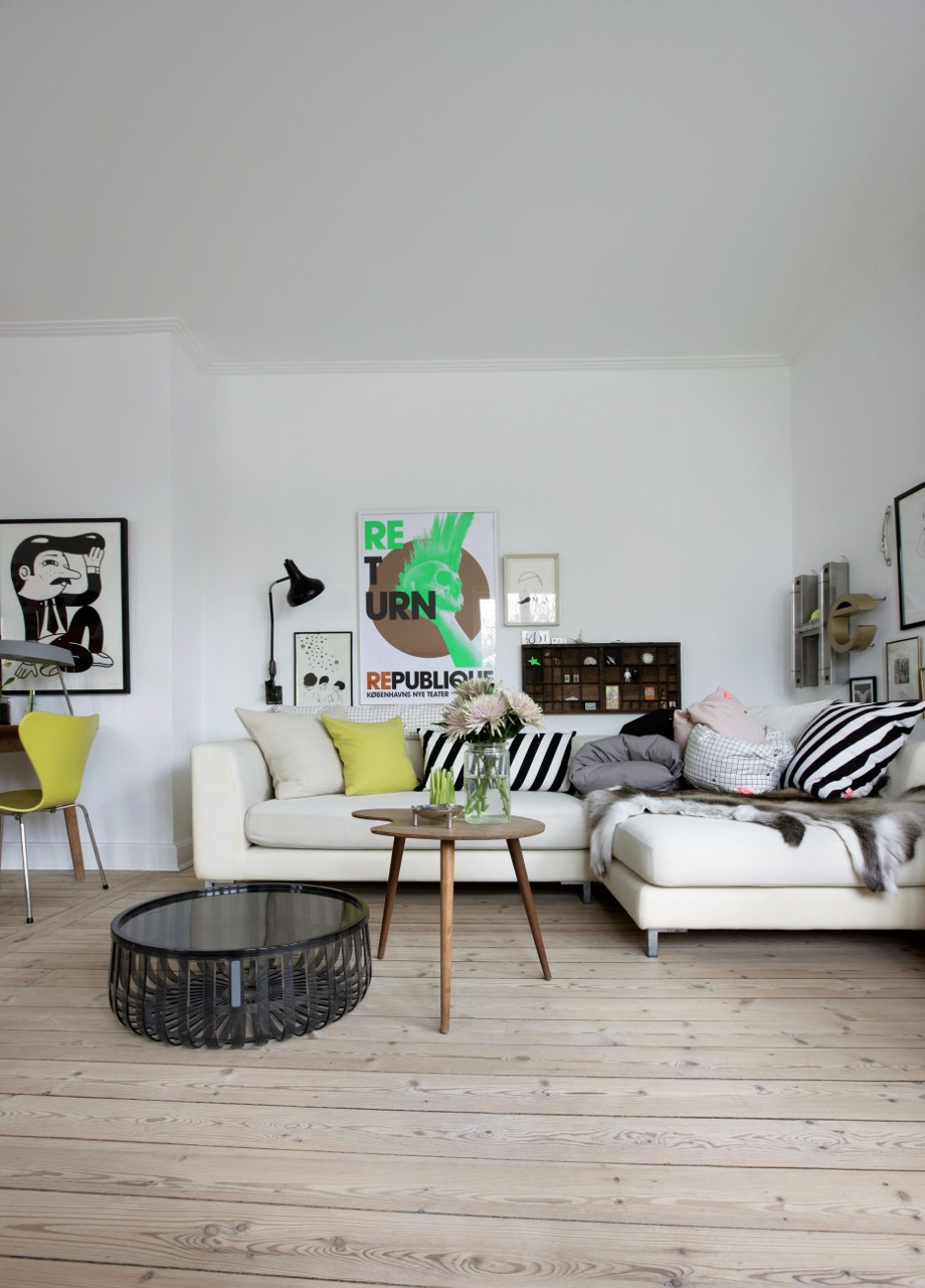 Enrich your interior with casual scandinavian style for Nordic inspired decor