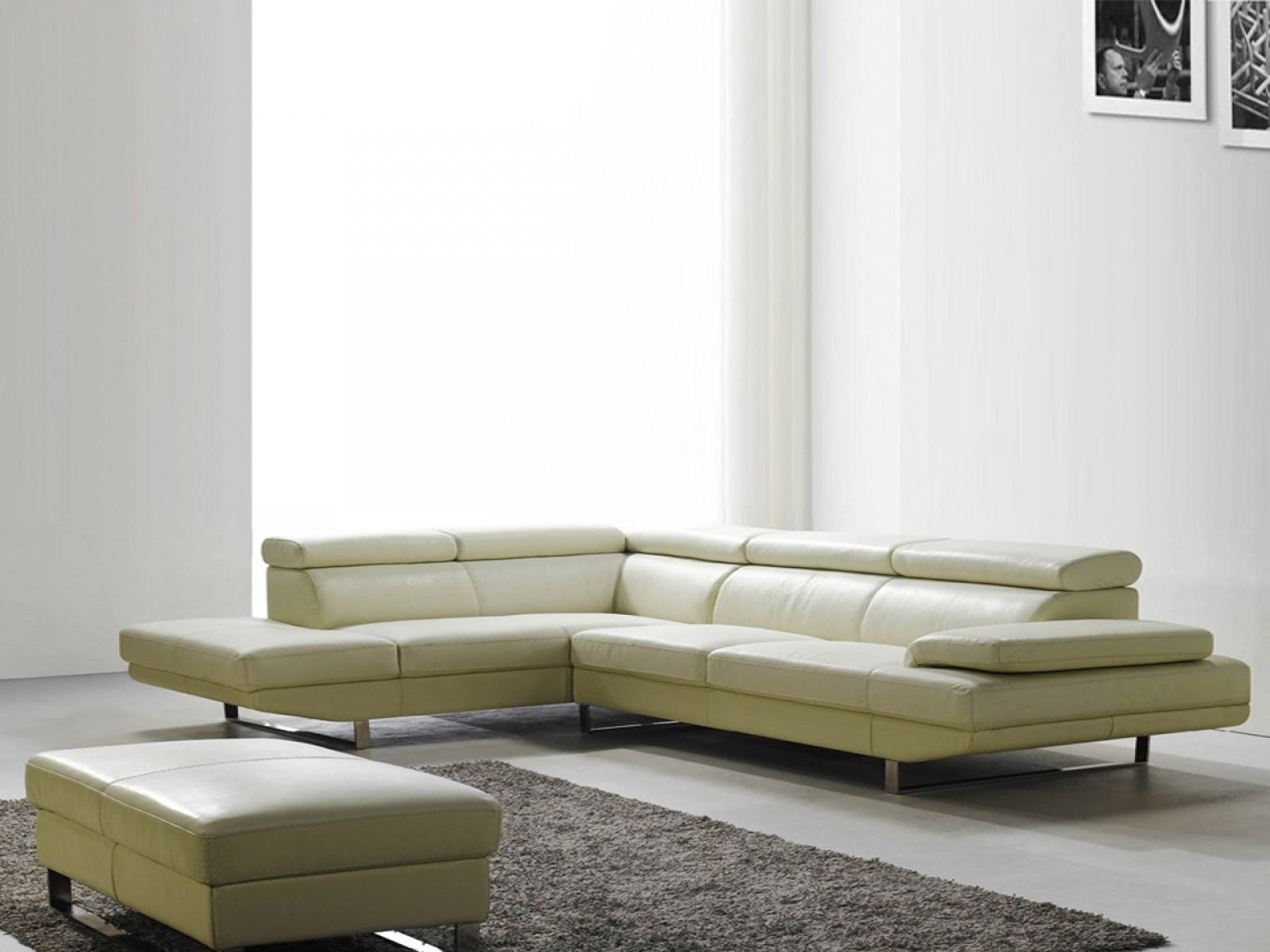 Feel the grace of your interior with long sectional sofa for Modern sectional sofa clearance